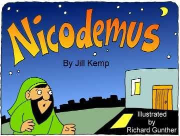 story of nicodemus for preschoolers book on story nicodemus bible lesson ideas 899