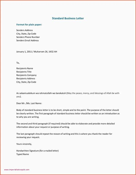 informal business letters freshproposal