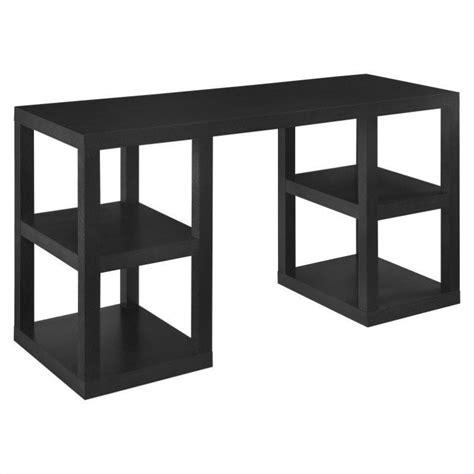 altra furniture parsons deluxe writing black oak computer