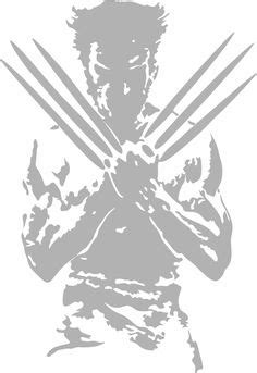 wolverine  men vector outline silhouette logo symbol