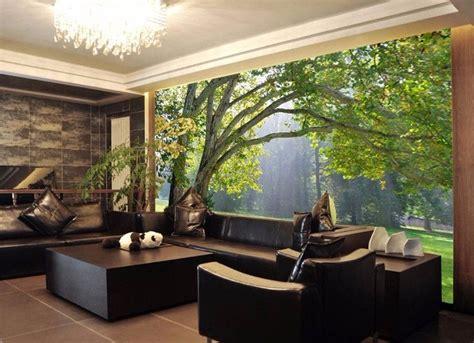 mural wallpaper scenery  living room tv background