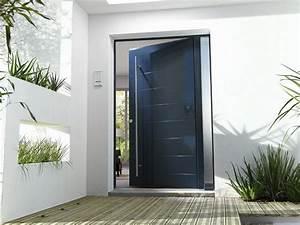 Devis Porte D Entrée : portes aluminium sur mesure oporte ~ Melissatoandfro.com Idées de Décoration