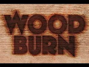 Photoshop how to make a wood burn brand youtube for Branding letters into wood
