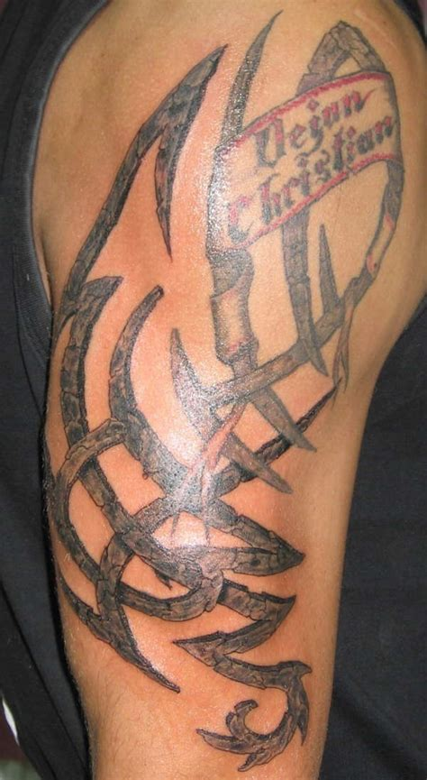 stone tribal tattoo