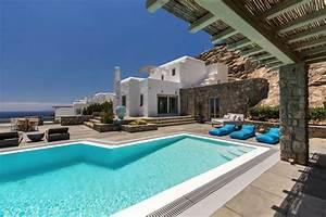 cyclades mykonos psarou bay location maison luxe With location vacances villa piscine privee 7 location de villas a mykonos vacances dans les cyclades