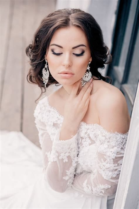 gorgeous wedding hairstyles and makeup ideas the