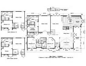 large kitchen floor plans floor plan for homes with large home floor plans for mobile homes wide popular home