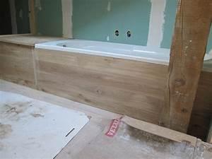 Habillage De Baignoire : semaine 40 une salle de bain en bois la grange loft d 39 athayuyu ~ Dode.kayakingforconservation.com Idées de Décoration