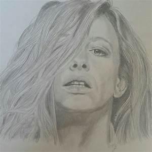 Disegno a matita ritratto di donna Disegni Pinterest Matita, Disegno e Disegni