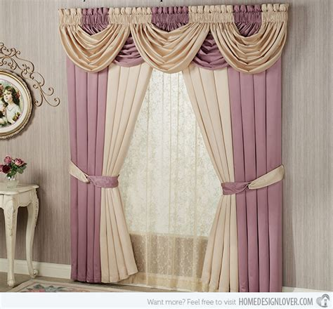 how to make valance curtains 15 different valance designs decoration for house
