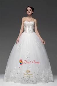 Sweetheart Basque Waist Tulle Beading Appliques Princess ...