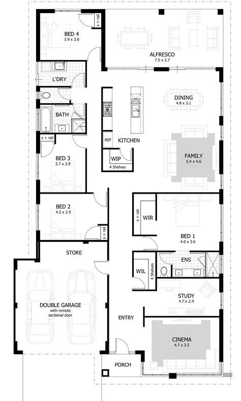 4 bedroom floor plan 4 bedroom house plans amp home designs celebration homes