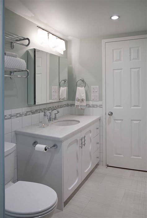 bathroom mirror ideas for single sink modern narrow vanities with single sink undermount and