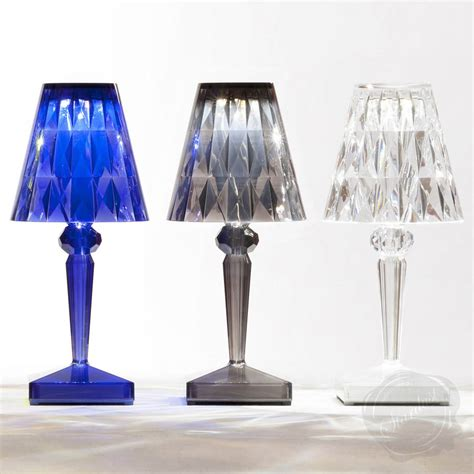 kartell battery table l rechargeable battery lamp by kartell