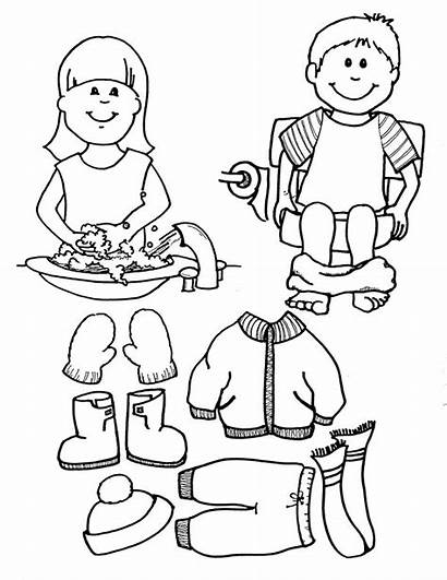 Coloring Boy Sheets Daycare Clipart Boys Anime