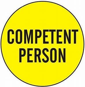 COMPETENT PERSO... Competent