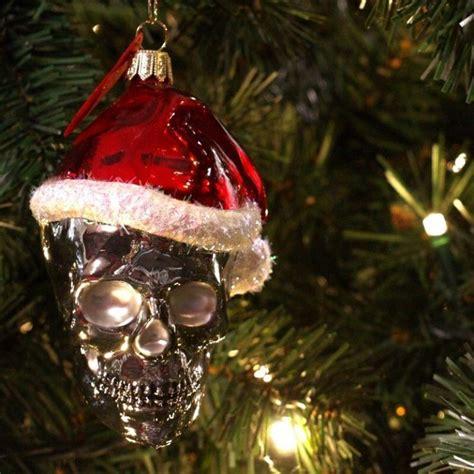 images  skull christmas tree  pinterest