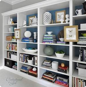 decorating a bookcase its overflowing With living room bookshelf decorating ideas