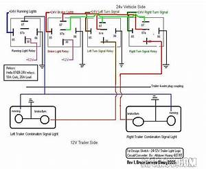 24v Truck With 12v Trailer - Wiring Diagram