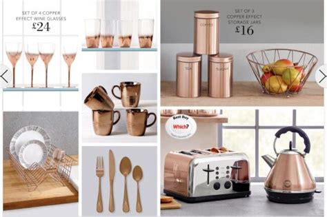 Copper Kitchen Accessories From Next Хаусхолд