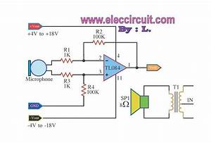 Pre Microphone Low Impedance Using Tl084  U2013 Circuit Wiring