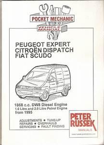 Haynes Reparasjonsh U00e5ndbok  Citroen Dispatch  Fiat Scudo