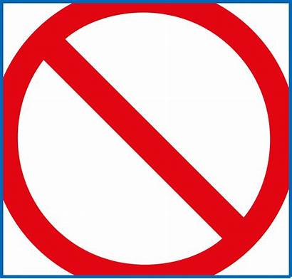 Transparent Signs Prohibited Prohibition Warning Circle Clipart