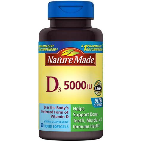 vitamin d l amazon amazon com nature made vitamin d3 5000 iu ultra strength