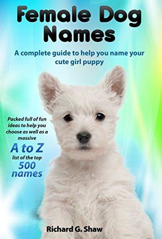 female dog names  complete guide