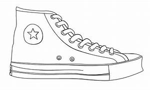 Chuck Taylor Shoe Template By Crybaby00 On Deviantart