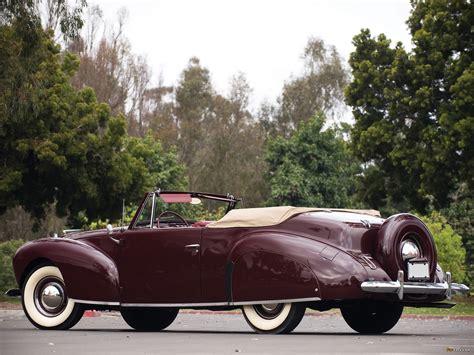 Photos Of Lincoln Zephyr Continental Cabriolet 1939–40