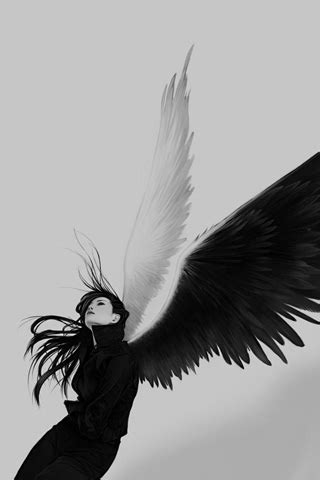 roleplayroleplay angel  demon character showing