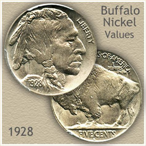 how much are buffalo nickels worth 1928 nickel value discover your buffalo nickel worth