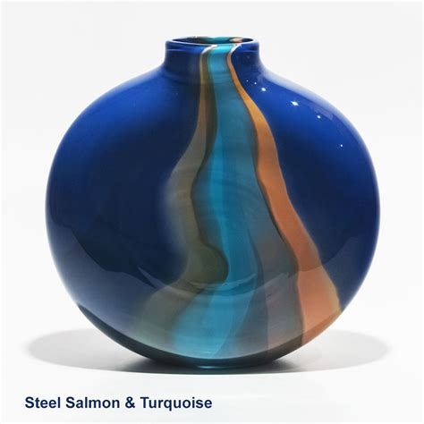 Unique Glass Vases by Unique Vases I Ribbon Flattened By Michael Trimpol I