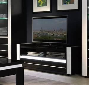 Meuble Tv Noir Laqué : television guide d 39 achat ~ Nature-et-papiers.com Idées de Décoration