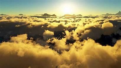 Fondo Nubes Clouds Pantalla Uplifting Dios Trance