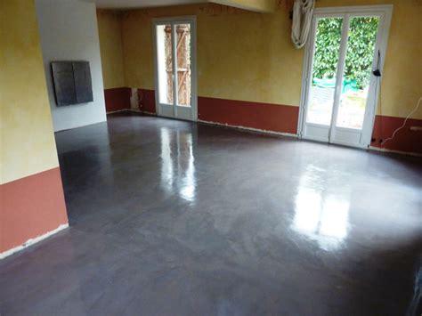 cuisine beton cire les é de la réalisation d 39 un béton ciré