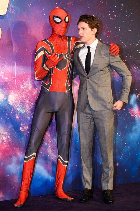 tom holland  avengers infinity war fan screening