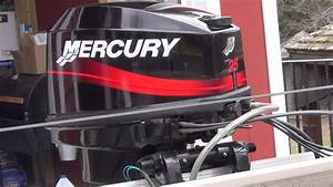 2000 Mercury 25hp 2 Stroke Outboard Engine