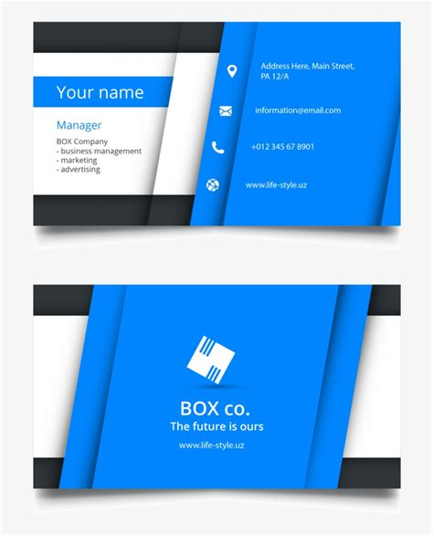 large size  visiting card design  business chocolate