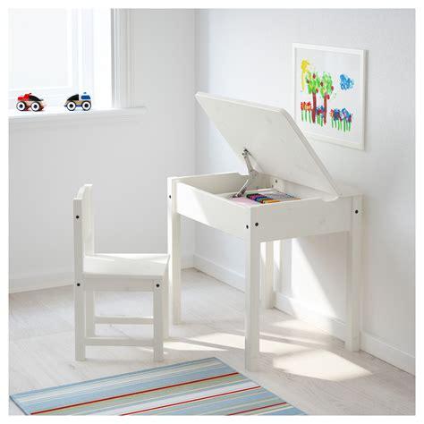 ikea desk and chair sundvik children 39 s desk white 58x45 cm ikea