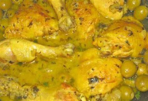 cuisine marocaine poulet aux olives recette de cuisine algerienne recettes marocaine