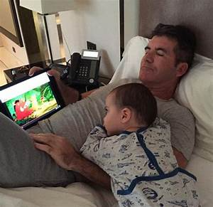 Cub and Lion King: Simon Cowell and son - Emirates 24|7