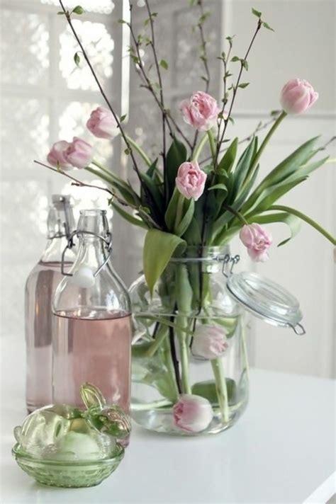 deko mit tulpen 46 wundersch 246 ne ideen f 252 r glasvasen deko archzine net