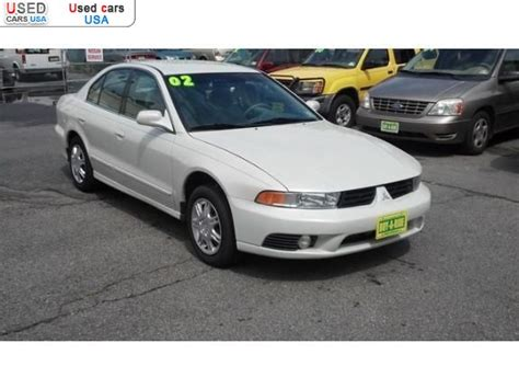Galant 2002 For Sale by For Sale 2002 Passenger Car Mitsubishi Galant Es Longwood