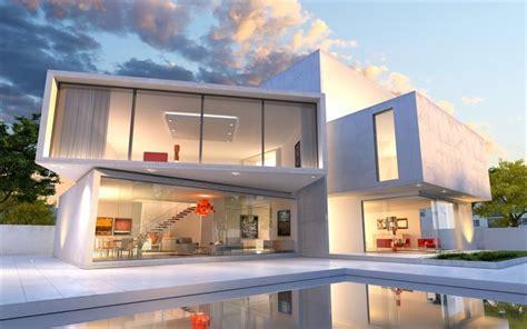 Moderne Quadratische Häuser by Herunterladen Hintergrundbild Moderne Haus Design