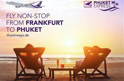 การบินไทยให้บริการ 2 เที่ยวบินพิเศษ แฟรงก์เฟิร์ตสู่ภูเก็ต เม.ย-พ.คนี้ - ThaiPublica