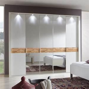 Kleiderschrank 250 Cm : kleiderschrank adria schrank wei spaltholz eiche massiv mit spiegel 250 cm ebay ~ Whattoseeinmadrid.com Haus und Dekorationen