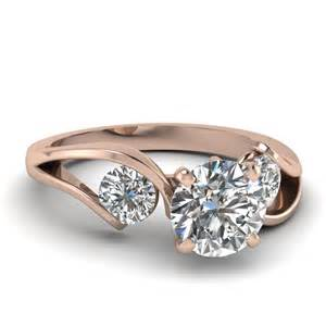 tension setting engagement ring cut engagement rings with white diamonds in 14k gold modish tension ring