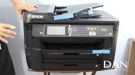Epson WorkForce WF-7620 All-in-One Printer - YouTube